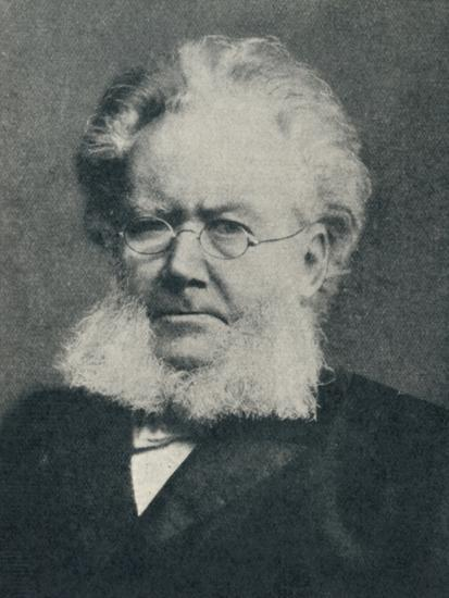 'Henrik Ibsen - In the Heyday of His Success', c1897, (c1925)-Unknown-Photographic Print