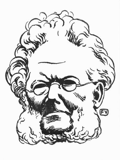 Henrik Ibsen-F?lix Vallotton-Giclee Print