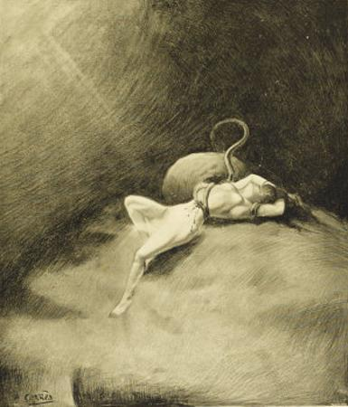 The War of the Worlds, a Martian Claims a Victim by Henrique Alvim Corrêa