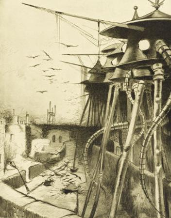 The War of the Worlds, The Fighting-Machines, Harmless Without Their Martian Crews by Henrique Alvim Corrêa