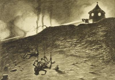 The War of the Worlds, The First Victims of the Martian Heat-Ray by Henrique Alvim Corrêa