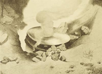 "The War of the Worlds, The Mysterious ""Thing"" That Has Landed in the Sand-Pits by Henrique Alvim Corrêa"