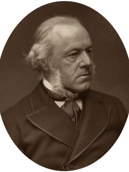 Henry Austin Bruce, 1st Baron Aberdare, Statesman, 1882-Lock & Whitfield-Photographic Print