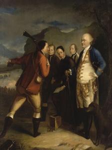 Pascal Paoli à la bataille de Ponte Novu (Ponte-Novo), 1769 by Henry Benbridge