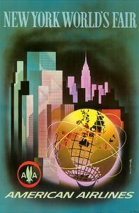 New York Worlds Fair 1964-1965 - American Airlines by Henry Bencrathy