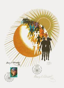 Annee Mondiale de la Population by Henry Bencsath