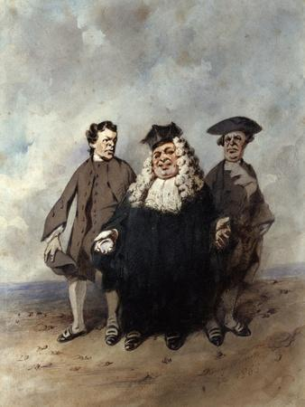 The Judge and the Litigants, 1866