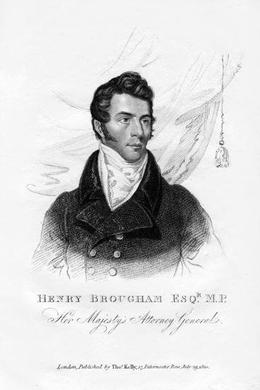 Henry Brougham, Attorney General, 1820--Giclee Print