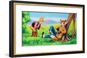 Brer Rabbit and Brer Fox by Henry Charles Fox