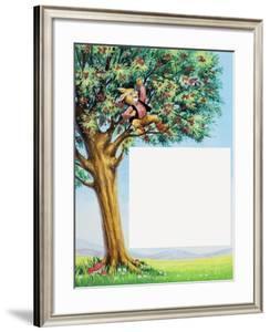 Brer Rabbit in Cherry Tree by Henry Charles Fox