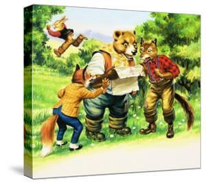 Brer Rabbit by Henry Charles Fox