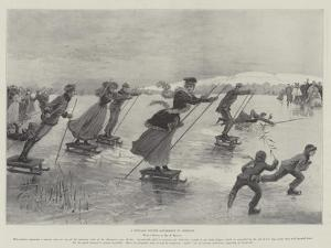 A Popular Winter Amusement in Germany by Henry Charles Seppings Wright