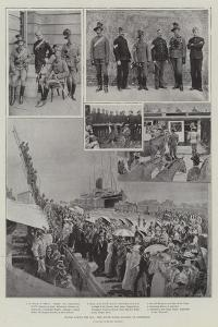 Hands across the Sea, New South Wales Lancers at Aldershot by Henry Charles Seppings Wright