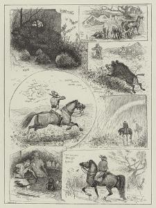Hunting in Morocco by Henry Charles Seppings Wright