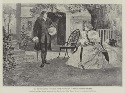 Mr Henry James's New Play, Guy Domville, at the St James's Theatre by Henry Charles Seppings Wright