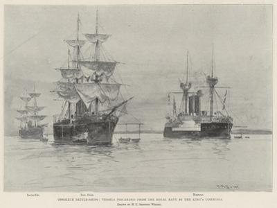 Obsolete Battle-Ships, Vessels Discarded from the Royal Navy by the King's Command by Henry Charles Seppings Wright