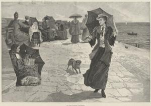 On the Parade, Southsea by Henry Charles Seppings Wright