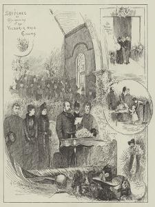Sketches at the Opening of the Victoria Hall, Ealing by Henry Charles Seppings Wright