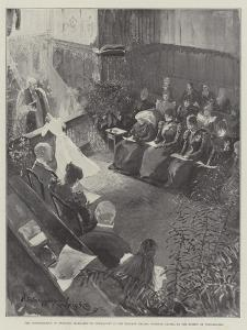 The Confirmation of Princess Margaret of Connaught in the Private Chapel by Henry Charles Seppings Wright