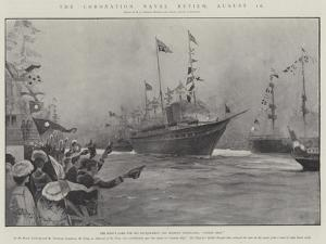 The Coronation Naval Review, 16 August by Henry Charles Seppings Wright