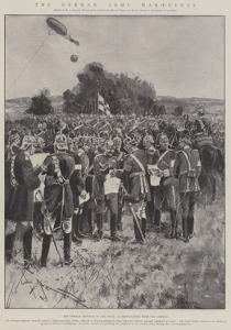 The German Army Manoeuvres by Henry Charles Seppings Wright