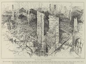 The Great Fire in Bermondsey by Henry Charles Seppings Wright