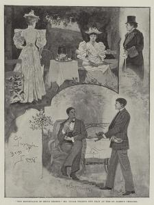 The Importance of Being Ernest, Mr Oscar Wilde's New Play at the St James's Theatre by Henry Charles Seppings Wright