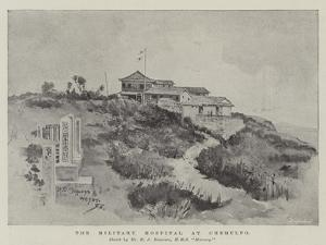 The Military Hospital at Chemulpo by Henry Charles Seppings Wright