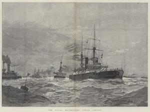 The Naval Manoeuvres, Steam Tactics by Henry Charles Seppings Wright
