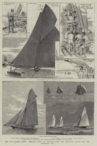 The New Racing Yacht Thistle, Built to Compete with the American Yachts for the America Cup by Henry Charles Seppings Wright