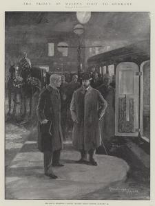 The Prince of Wales's Visit to Germany by Henry Charles Seppings Wright