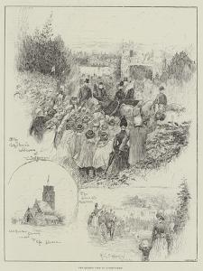 The Queen's Visit to Sandringham by Henry Charles Seppings Wright
