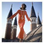 Vogue - September 1968 - Conchita Cintron & Horse-Henry Clarke-Stretched Canvas