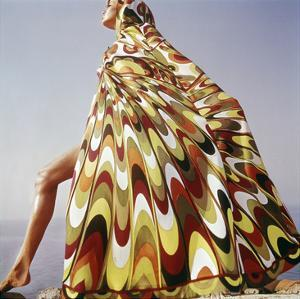 Vogue - January 1965 - Pucci Cover-up by Henry Clarke
