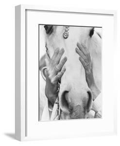Vogue - September 1968 - Conchita Cintron & Horse by Henry Clarke