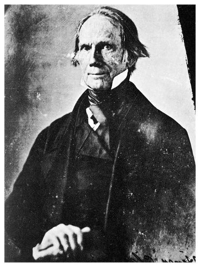 Henry Clay, American Statesman, 1850-MATHEW B BRADY-Giclee Print