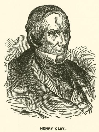Henry Clay--Giclee Print