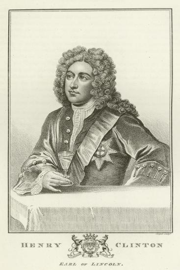 Henry Clinton, Earl of Lincoln-Godfrey Kneller-Giclee Print