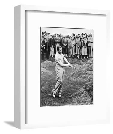 Henry Cotton, American Golfer August 1934