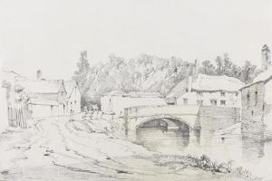 Engine Bridge, Exeter, C.1831 by Henry Courtney Selous
