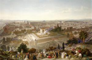 Jerusalem in Her Grandeur by Henry Courtney Selous