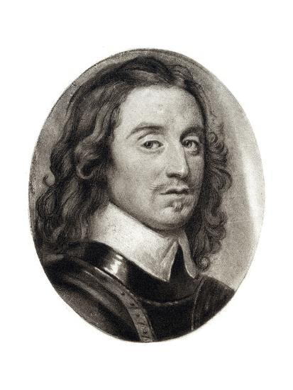 Henry Cromwell, Fourth Son of Oliver Cromwell, 17th Century-Samuel Cooper-Giclee Print