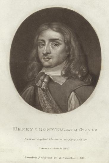 Henry Cromwell--Giclee Print