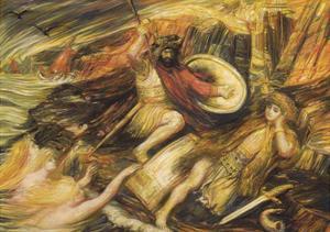 Siegfried's Death by Henry De Groux