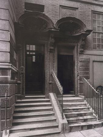Doorways at Laurence Pountney Hill, London, 1884 by Henry Dixon