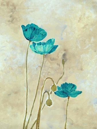 Tealqoise Flowers II
