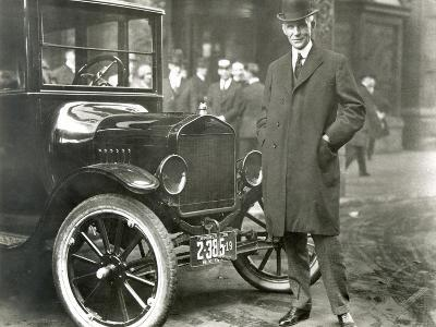 Henry Ford (1863-1947)--Giclee Print