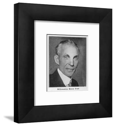 Henry Ford, American Automobile Manufacturer