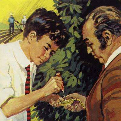 Henry Ford Delighted in Fixing the Watches of Neighbours--Giclee Print