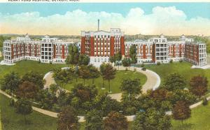 Henry Ford Hospital, Detroit, Michigan